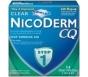 Nicoderm CQ Step 1 Clear Patch 21mg 14/Box
