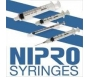 """Nipro Syringe 21 Gauge, 3cc, 1"""" Needle - 100 Count"""
