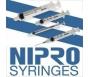 """Nipro Syringe 25 Gauge, 3cc, 1"""" Needle - 100 Count"""
