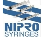 "Nipro Syringe 23 Gauge, 3cc, 1"" Needle - 10 Count"