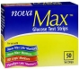Nova Max Blood Glucose Test Strips- 50ct