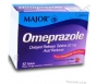 Major Omeprazole 20mg Delayed Release - 42 Tablet Box