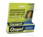 Orajel (Benzocaine 20%) Maximum Strength Liquid - 0.45 fl oz
