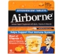 Airborne Health Formula Effervescent Tablets, Orange- 10ct