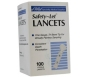 Saftey-Let Lancets 100ct***PRODUCT DISCONTINUED ONLY 3 LEFT IN STOCK***