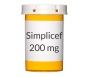 Simplicef 200 mg Tablets (100 Count)