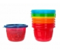 The First Years Take & Toss Snack Cups with Lids, 4.5oz - 6ct