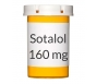 Sotalol 160mg Tablets