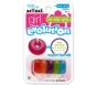 Scünci No Slip Grip Evolution Super Bandz Hair Elastics, 6ct- 3 Packs (Colors May Vary)