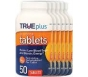 TRUEplus Glucose Tablet, Orange- 6-10ct packs