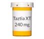 Taztia XT 240mg Capsules