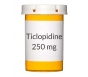 Ticlopidine 250mg Tablets ***Manufacturer Backorder. Expected Restocking Date - 8/10/15
