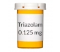 Triazolam (Generic Halcion) 0.125 mg Tablets