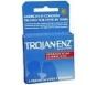 Trojan-Enz Condoms Spermicidal Lubricated Latex 3 ct