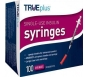 "TRUEplus Insulin Syringes 28 Gauge, .5cc, 1/2"" Needle- 100ct"