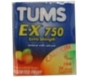 Tums E-X 750mg Tablets 3-Pack Assorted Fruit  24ct x 12 Pack