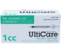 "UltiCare Insulin Syringe, 29 Gauge, 1cc, 1/2"" Needle - 100 Count"