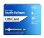 "UltiGuard U-100 Insulin Syringes 30 Gauge, .5cc, 5/16""- 100ct"