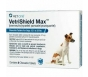 VetriShield Max Chewable Tablets  For Dogs 12.1-25 Pounds (Blue)- 6 doses