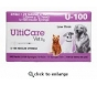 "Ulticare Vet Rx U-100 Insulin Syringes 29 Gauge, 3/10cc, 1/2""- 100ct"