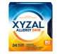 Xyzal 24 Hour Allergy Relief 5mg Tablets - 80ct
