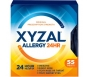 Xyzal 24 Hour Allergy Relief 5mg Tablets - 55ct