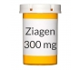 Ziagen 300mg Tablets - 60 Count Bottle