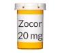 Zocor 20mg Tablets