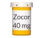 Zocor 40mg Tablets