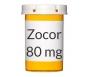 Zocor 80mg Tablets