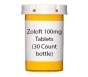 Zoloft 100mg Tablets (30 Count bottle)