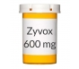 Zyvox 600mg Tablets - 20 Count Bottle